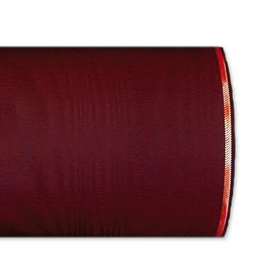 Kranzband 4422/075mm 25m Moire Goldrand, 277 weinro