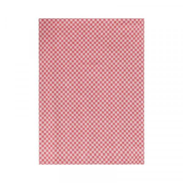 Geschirrtücher Baumwolle 50x70cm 3St., rot