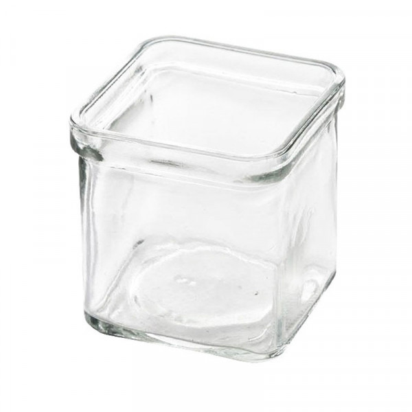 Glas Kasten 10x10x10cm, klar