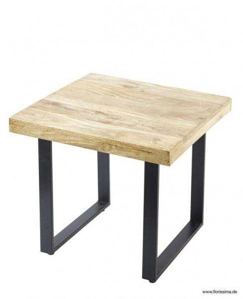 Tisch Holzmetall 60x60x51cm Schwnatur Tische Möbel