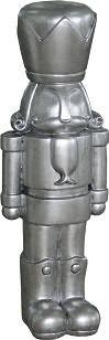 Nussknacker FS319 H110cm, silber