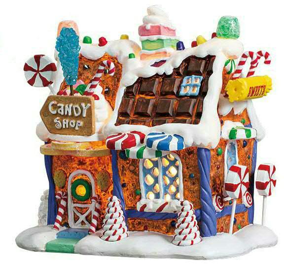 The Candy Shop 4,5V H17cm beleuchtet, Batteriebetrieben