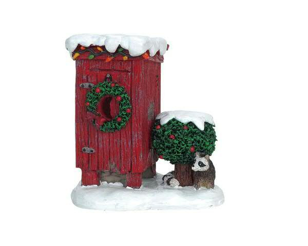 Christmas Outhouse 6,5x7,5cm
