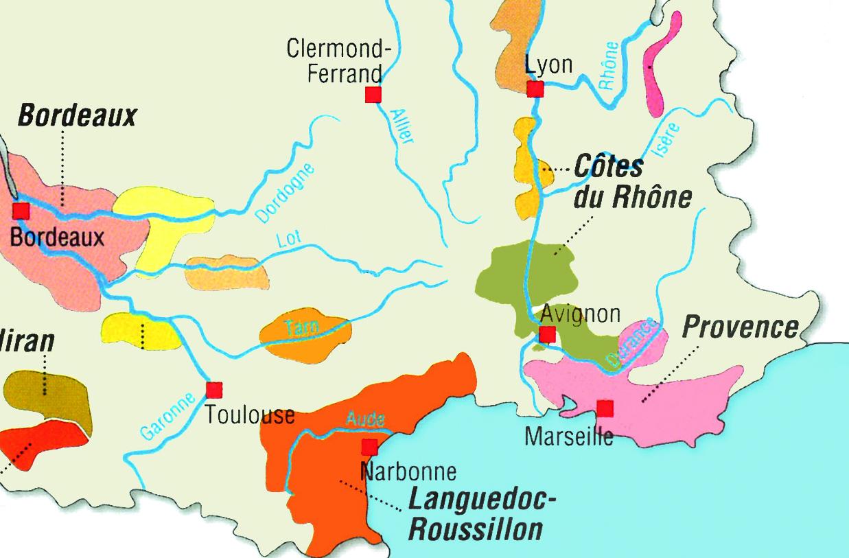 Weinregionen_Karte-Frankreich