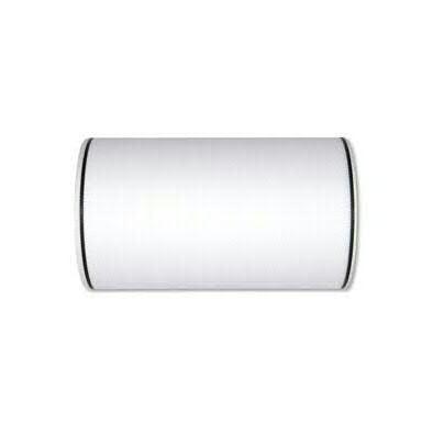 Kranzband 7200/175mm 25m Moire schwarzer Rand, 11 weiß