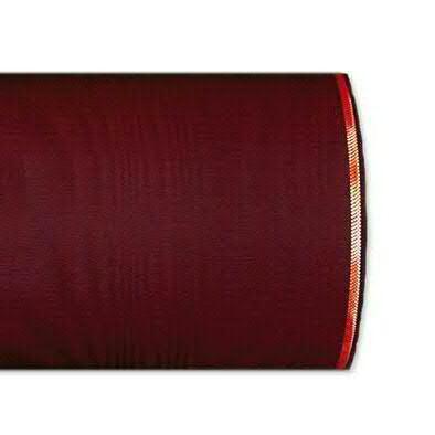Kranzband 4422/125mm 25m Moire Goldrand, 277 weinro