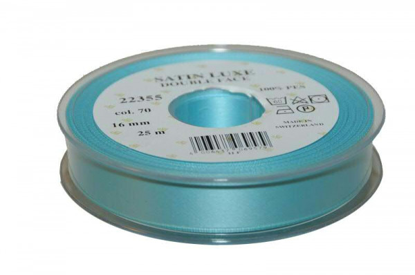Band Satin 22355/16mm 25m, 070 türkis