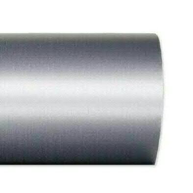 Kranzband 2601/125mm 25m Satin, 721 grau