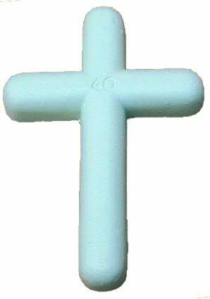 Kunststoff Kreuze 45cm