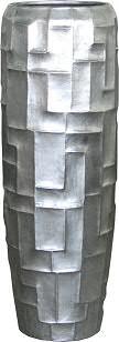 Vase FS151 H98cm m.E., silber
