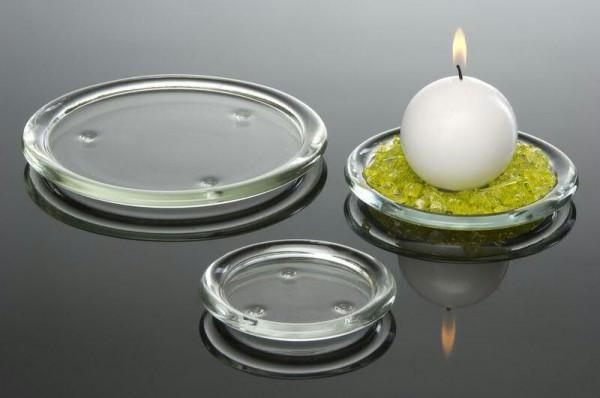 Glas Teller 200/D19cm, klar