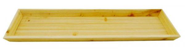 Tablett Holz 58x17x3cm, natur