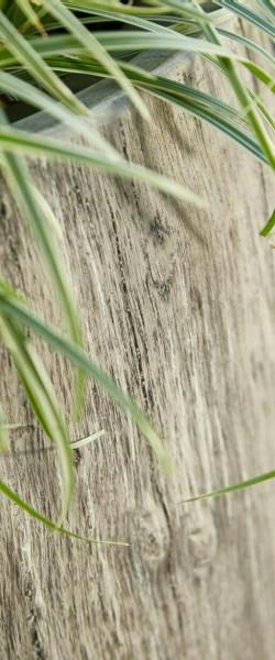 Banner 73x175cm Holz/Gras