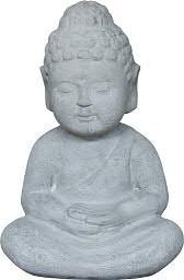 Buddha BT424 D23x17cm H33cm SP, cement