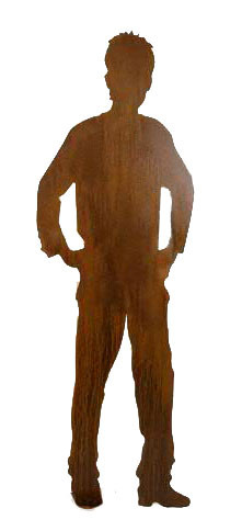 Rost Figur Carlo H185cm