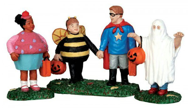 Halloween New Trick of Treaters S/3 H5,5cm