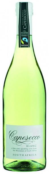 Wein Capesecco Blanc Fair Trade Perlwein | 0,75l | Südafrika, weiß