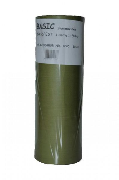Papier Nr.206 50cm Basic 1-seitig, moos