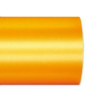 Kranzband 2601/075mm 25m Satin, 713 gelb