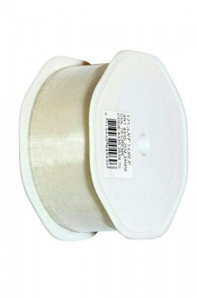 Band Organza 4335/38mm 25m, 70 creme