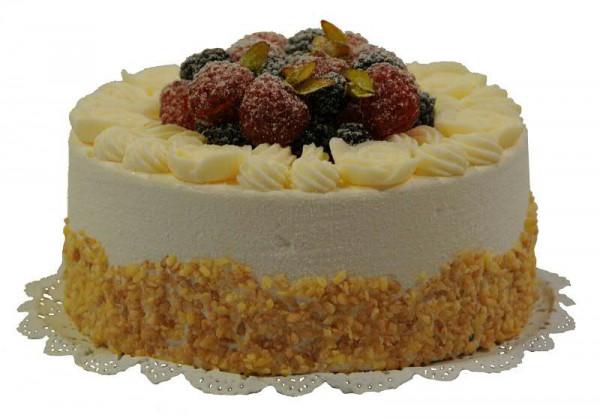 Torte D15h10cm Mit Obst Creme Kuchen Torten