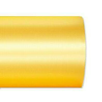 Kranzband 2601/075mm 25m Satin, 712 h.gelb