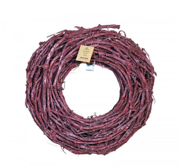 Grape Wood Kranz 40cm, brombeer