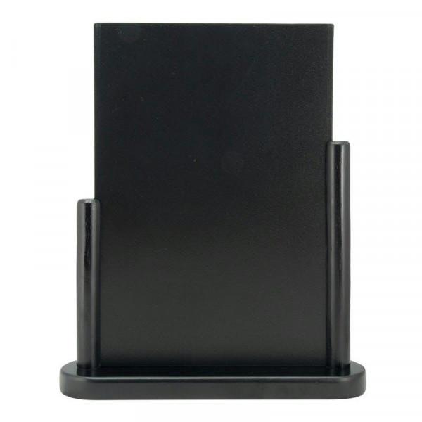 Tischkreidetafel 32,3x27x7,5cm, schwarz