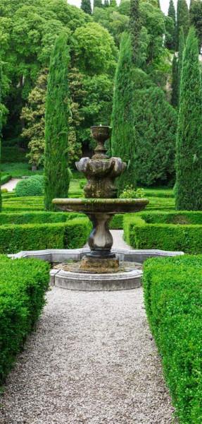 Banner 90x180cm Royal Garden