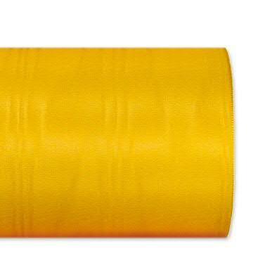 Kranzband 1072/100mm 25m Moire, 912 gelb