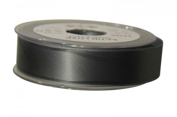 Band Satin 22355/25mm 25m, 036 grau