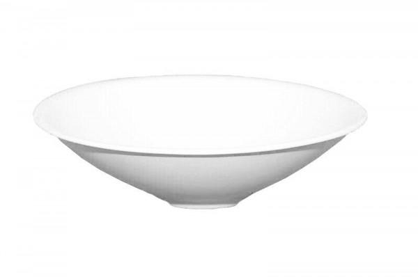 Schale Keramik 430/33cm, mattweiß
