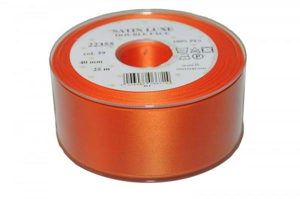 Band Satin 22355/40mm 25m, 039 orange