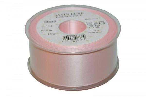 Band Satin 22355/40mm 25m, 004 h.rosa