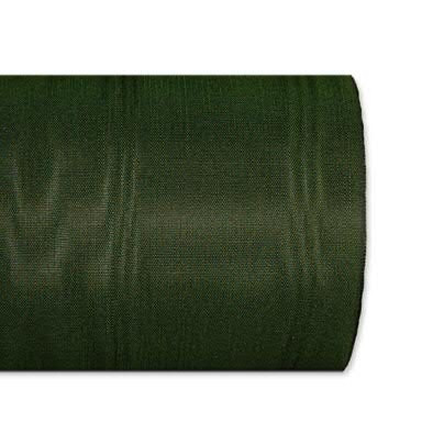 Kranzband 5025/075mm 25m Moire, 548 d.grün