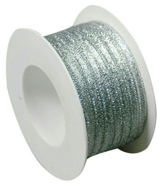 Kräuselband 2093/5mm 50m, 05 silber