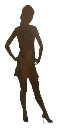 Rost Figur Sara H175cm