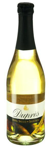Dupres Apfel Selection Secco alkoholfrei