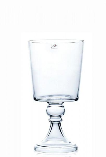 Glas Pokal H66cmD34,5cm a.Fuß, klar