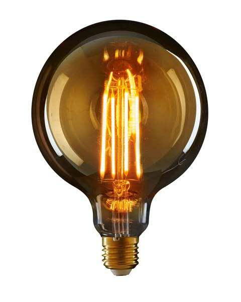Leuchtmittel LED 12,5x17cm 2W E27 1800K, klar