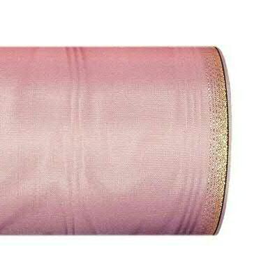 Kranzband 6694/150mm 25m Moire Goldrand, 625 altros