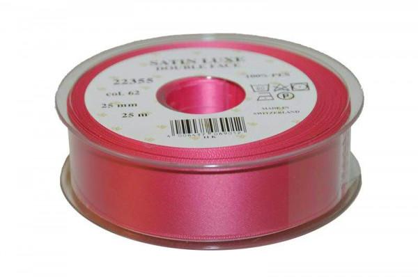 Band Satin 22355/25mm 25m, 062 h.pink