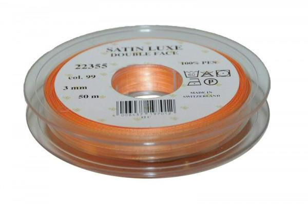 Band Satin 22355/03mm 50m, 099 lachs