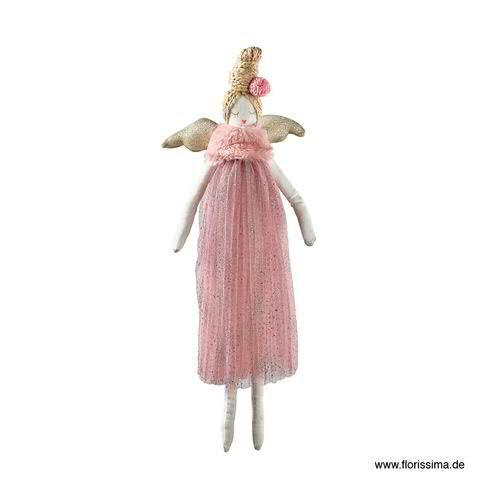 Puppe Plüsch 50cm zum Hängen, pink