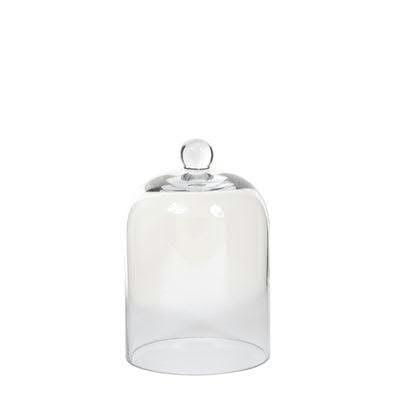 Klocke Deko glas glocke h19d13cm klar glocken klar glas sortiment deko