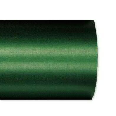 Kranzband 2601/125mm 25m Satin, 748 d.grün