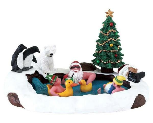 North Pole hot springs 14,7x8,5cm