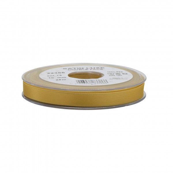 Band Satin 22355/10mm 25m, 014 gold