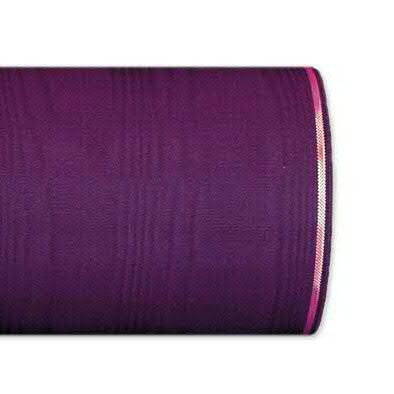 Kranzband 4422/100mm 25m Moire Goldrand, 256 puple
