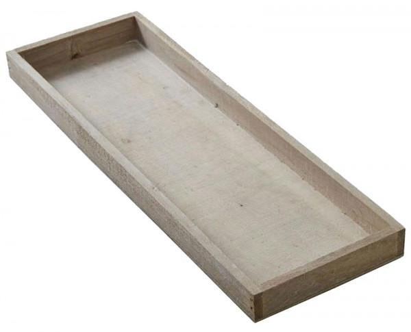 Tablett Holz tablett holz 42x14x3cm grau holztabletts holz artikel